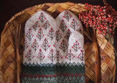 ラトビアの森のミトン画像2